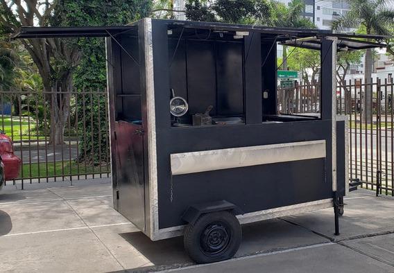 Remolque Food Truck Nuevo Y Totalmente Equipado