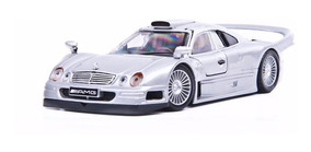 Mercedes-benz Clk-gtr Maisto 1:24 Carros Miniaturas Réplica