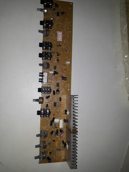 Placa De Saída Caixa Amplificadora Frahm Mf 580 Usb