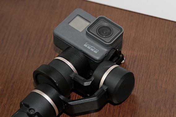 Kit Gopro 5 Black + Gimbal Feiytech 5 - Kit Youtuber - Troca