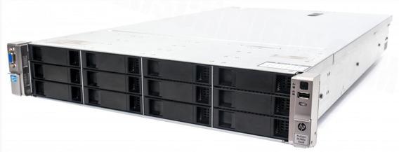 Servidor Hp Dl 380e, 2 Xeon Octa Core, 64 Gb, 2x Ssd 200 Gb
