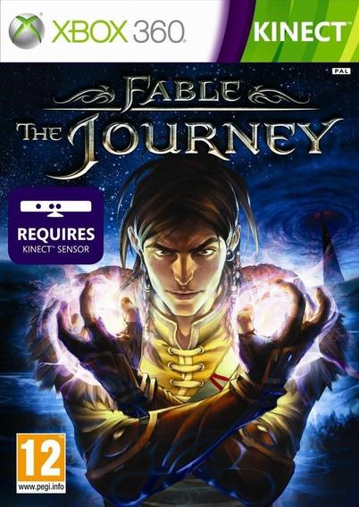Jogo Xbox 360 Kinect Fable The Journey Novo Lacrado