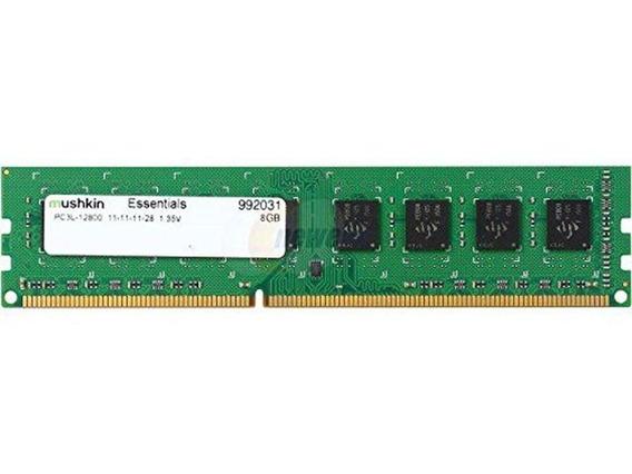 Memoria Mushkin Essentials Udimm Ddr3 8gb 1600mhz 1.35v Pc3