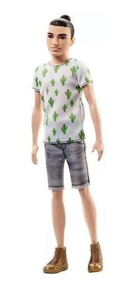 Boneco Ken Fashionistas 16 Cactus Cooler Dwk44 Barbie Mattel