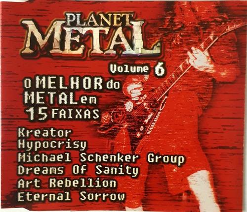 Imagem 1 de 2 de Cd Planet Metal Volume 6 Ed Br 99 Comp Heavy Death