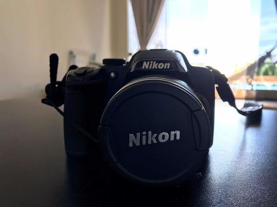 Câmera Nikon Digita Semiprofissional Coolpix P520