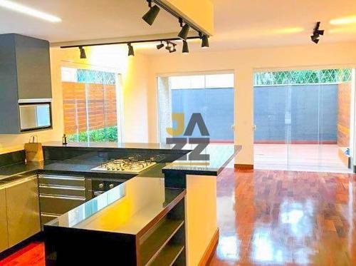 Belíssima Casa Assobradada, Condomínio Alto Padrão, Na Região Do Morumbi, A Casa Com 300 M² E 3 Quartos - Ca13282