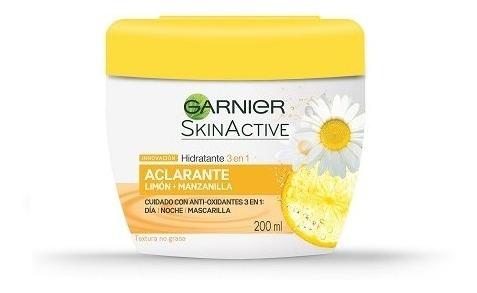 Crema Facial Aclarante 3 En 1 Garnier Pieles Normales 200ml