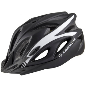 Capacete Absolute Sinalizador Led Ciclismo Bike Nero Preto