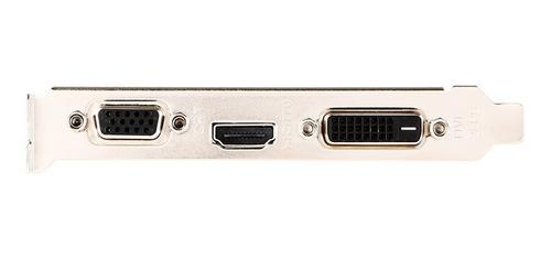 Imagen 1 de 1 de Tarjeta De Video Msi Nvidia Geforce Gt 710 1gb Ddr3 64 Bi...