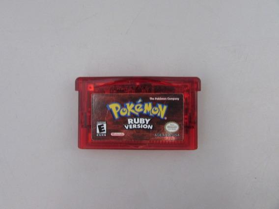 Pokemon Ruby Original Para Game Boy Advance