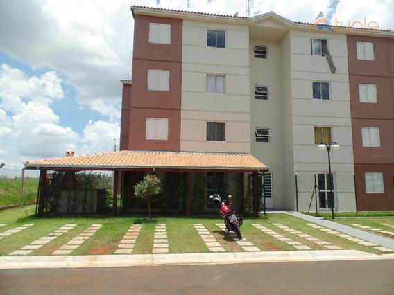 Apartamento Com 2 Dormitórios À Venda, 45 M² - Viver Sumaré - Sumaré/sp - Ap3143