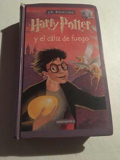Harry Potter Y El Cáliz De Fuego Tapa Dura 4