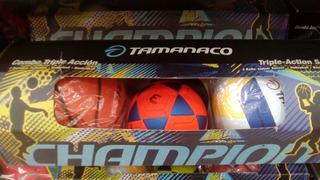Combo Tamanaco Basket Futbol Sala Volleyball Combo Porterías