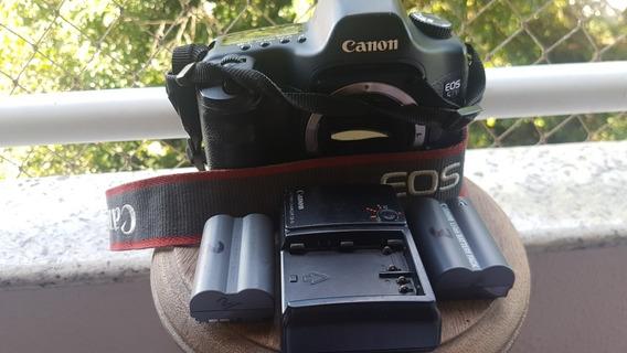 Canon 5d Classic Somente Corpo+ 3 Baterias+ Carregador+ Case