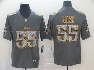 Camisa Pittsburgh Steelers Bush #55 Pronta Entrega