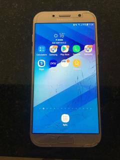 Celular Samsung A7 2017 Usado.tela Trincada