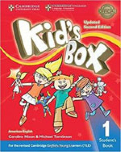 Imagem 1 de 1 de Kid's Box 1 - Student's Book - American English - Updated -