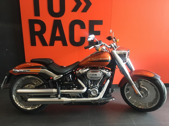 Harley Davidson - Fat Boy 114 - Laranja
