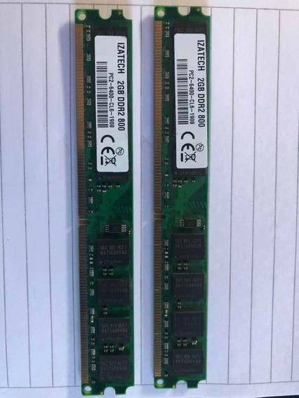 Memoria Ddr2 800 Mhz 4 Gb (2x2gb)