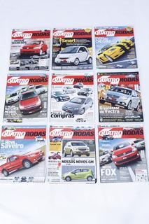 Revista Quatro Rodas Lote Barato 10 Revistas - Frete Gratis