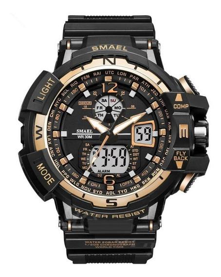 Reloj Smael Original Análogo Digital