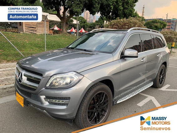 Mercedes Benz Gl 500 4-matic, 7 Pjs, Aut, 4.7cc Bi-turbo V8