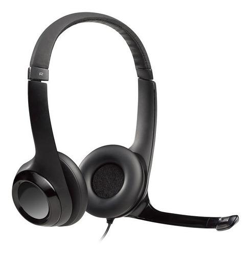 Imagen 1 de 3 de Auriculares Logitech H390 negro