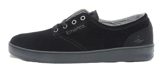 Zapato Emerica The Romero Laced Black Black Black