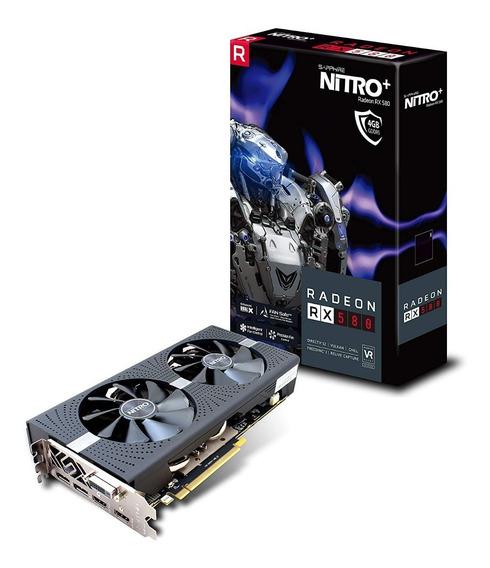 Tarjetas De Video Sapphire Radeon Nitro+ Rx 580 4gb Nuevas