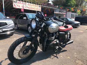 Triumph Bonneville T100 Custom Por Soul Motor