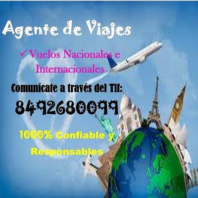 Venta De Boletos Aereos Nacionales E Internacionales!!!