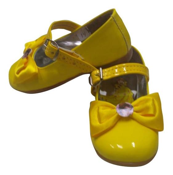 Zapatos Princesa Bella La Bella Y La Bestia Disney