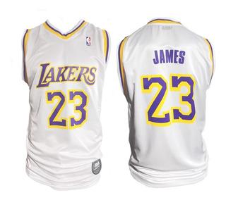 Camiseta Oficial Nba Lakers 23 Lebron James
