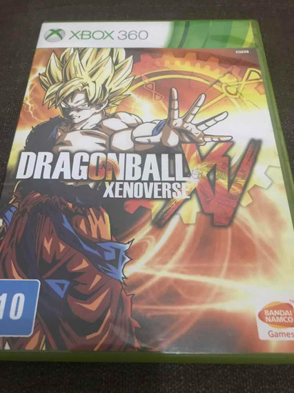 Jogo Xbox 360 Dragonball Xenoverse Original Mídia Física
