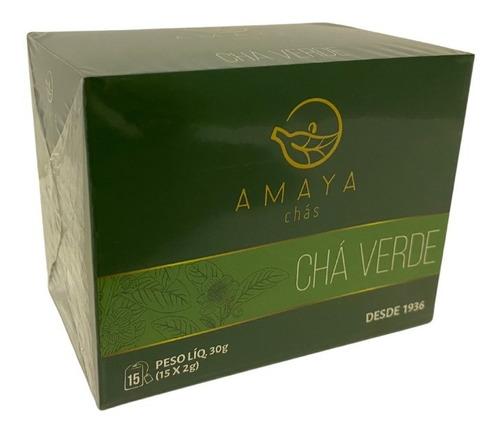 Chá Verde Sache Amaya 15x2g
