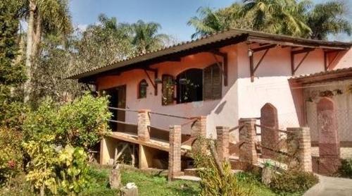 Imagem 1 de 22 de Chácara Com 2 Dormitórios À Venda, 2000 M² Por R$ 320.000,00 - Santa Isabel - Embu-guaçu/sp - Ch0008