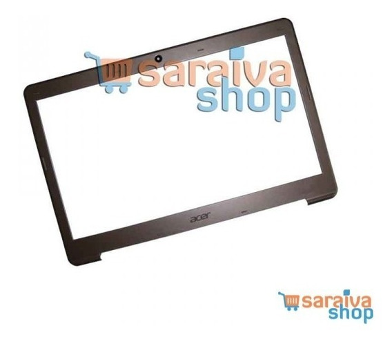 Moldura Da Tela Ultrabook Acer S3 Séries Cinza
