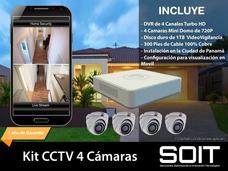 Camaras Seguridad, Cctv, Circuito Cerrado, Video Vigilancia