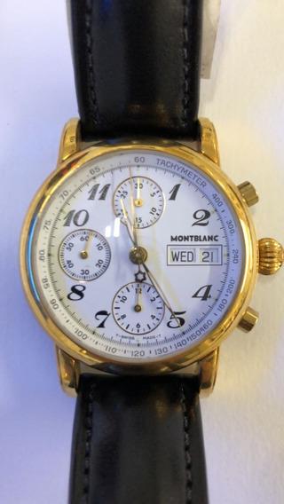 Relogio Montblanc Meisterstuck Star Chronografo
