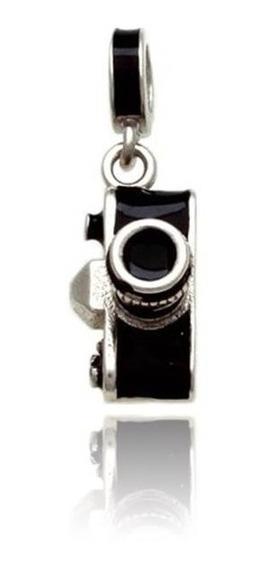 Berloque Câmera Fotográfica Prata 925