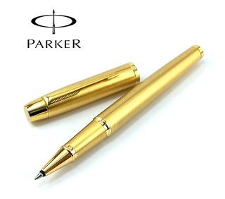 Boligrafo Lapicero Parker Im Gold Oro De Lujo Roller Ball