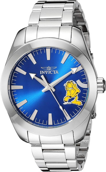 Reloj Invicta Garfield 25164 Character Limited Silver Blue
