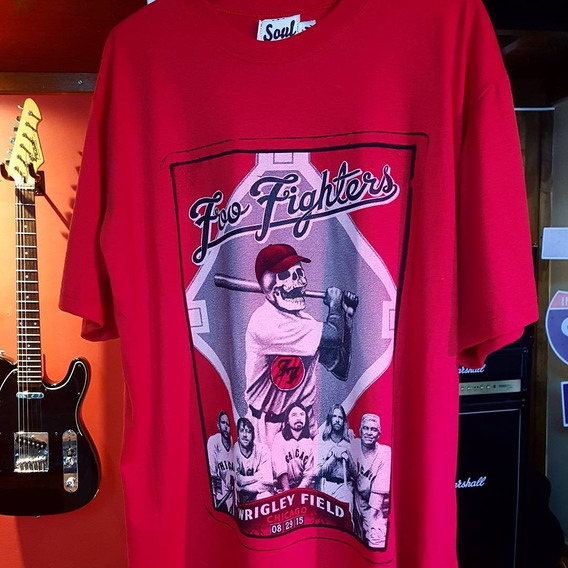 Remera Soul - Mod. Foo Fighters 2