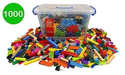 Cubo De Ladrillos De Construcción - 1000 Bloques A Granel Pa