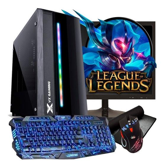 Pc Gamer Completo 8gb Ram Hd 500gb Ryzen 3 Radeon Vega 2gb
