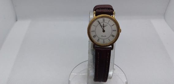 Relógio De Pulso Feminino Longines A Quartz