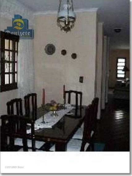 Sobrado Com 3 Dormitórios À Venda, 162 M² Por R$ 639.000,00 - Campestre - Santo André/sp - So0981