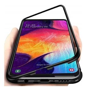Capa Luxo Magnética Samsung S8/ S9/ S10 Plus + Pelicula 3d
