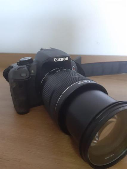 Camera Canon T4i + Lente 18-135mm
